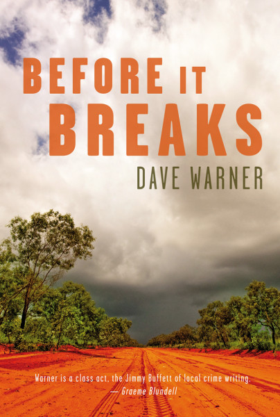 Dave's latest crime novel, Before It Breaks, will be released in June